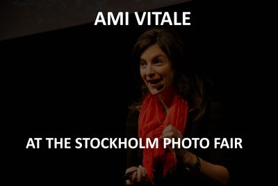 Ami Vitale at the Stockholm photo fair